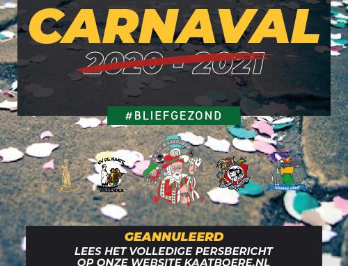 Activiteiten carnavalsverenigingen gemeente Voerendaal afgelast